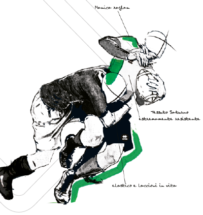 Abbigliamento Atleta Rugby NordMilano